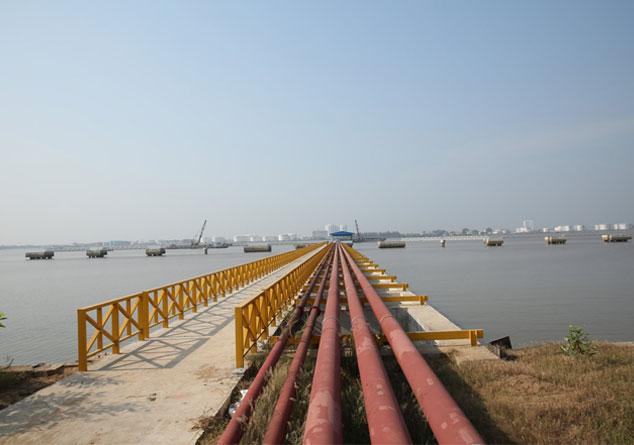 biện pháp thi công cầu cảng