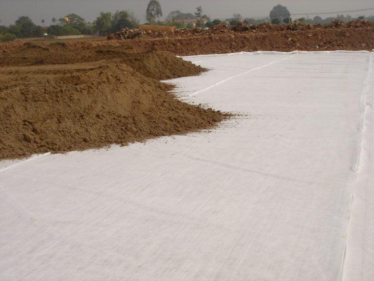phương pháp xây dựng nền đất yếu bằng vải địa kỹ thuật